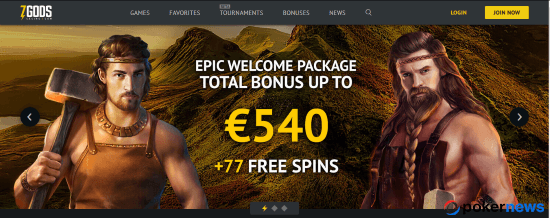 Get Free Spins and Cash at 7Gods Casino