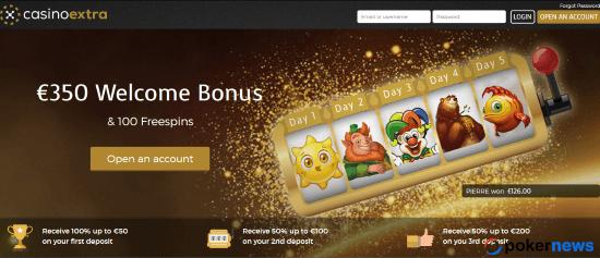 Newest Casino Bonus Card Casino Extra
