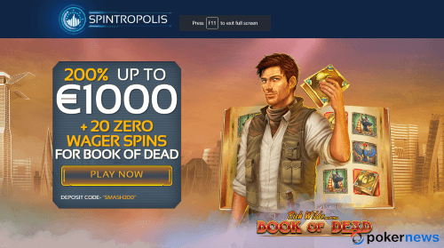 Spintropolis new bonus code to play Casino games