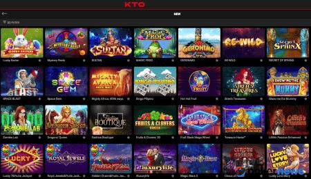 KTO Casino bonus
