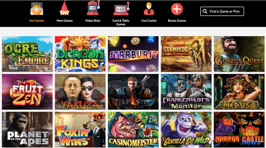 Lord of the Spins Slots Bonus Offer