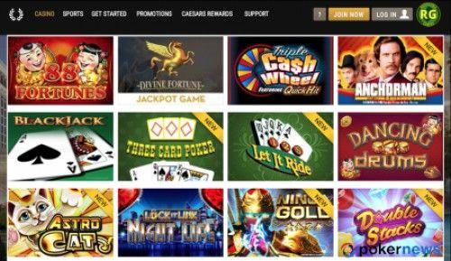 Caesar's Casino NJ Bonus