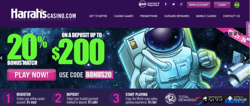 Harrah's Casino Bonus