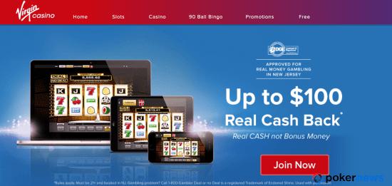 Virgin Casino NJ Bonus