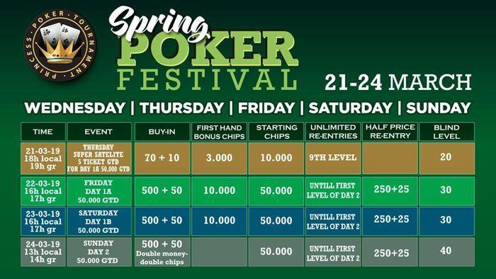 Princess: Έρχεται το Spring Poker Festival 21-24 Μαρτίου με €50.000 gtd 101