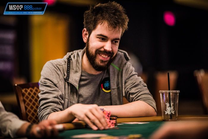 Dominik Nitsche at the WSOP in Las Vegas