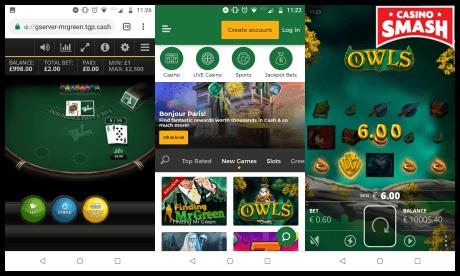mr green mobile casino