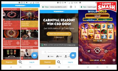 wunderino mobile casino
