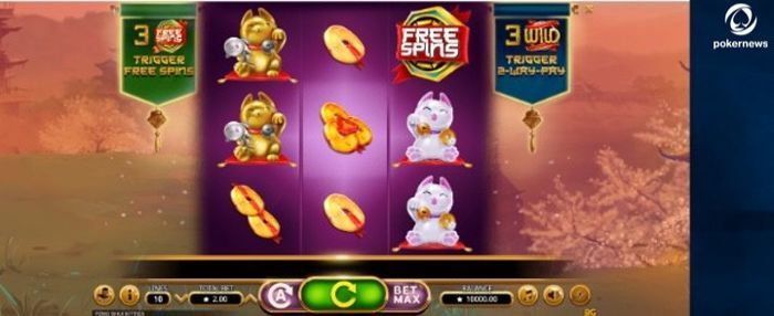 Feng Shui Kitties Slot