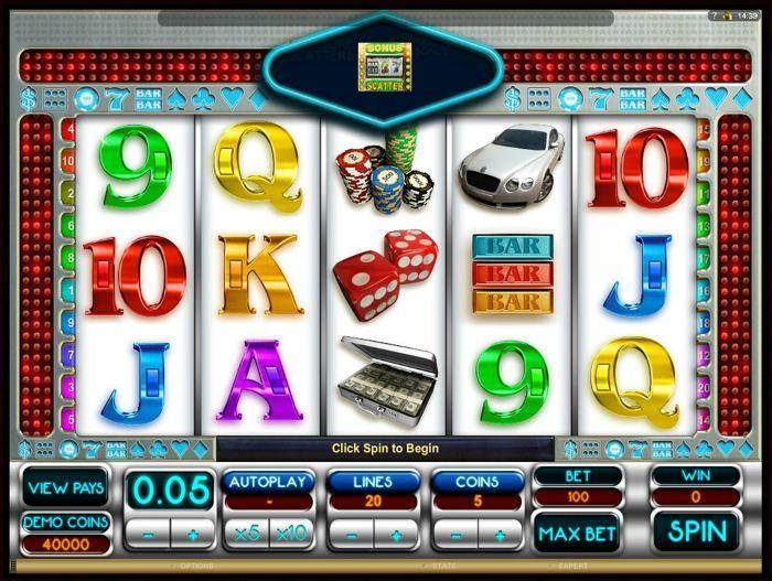 vegas dreams slot machine obline