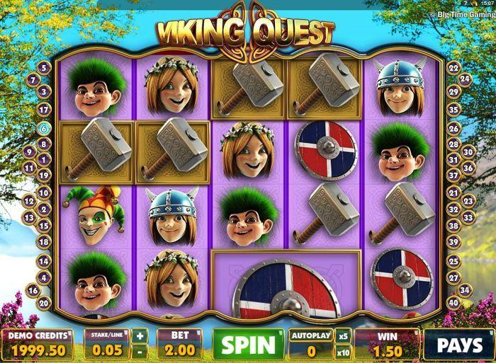 viking quest slot btg