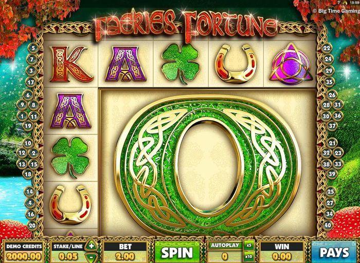 faeries fortune video slot