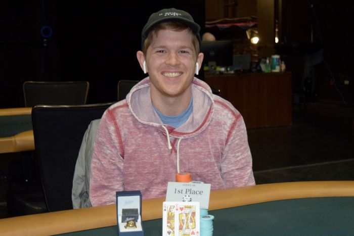 Ty Reiman captures his first WSOPC gold ring.