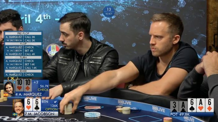 Martin Jacobson & Ana Marquez Analyze 888Live Bucharest High Roller Clash 101