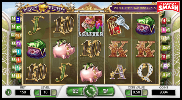 piggy riches slot game play