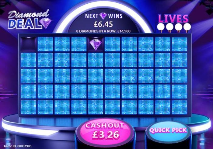 diamond deal free scratch card play