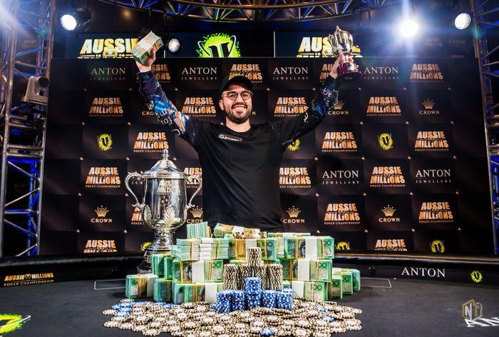 Bryn Kenney Wins 2019 Aussie Millions Main Event
