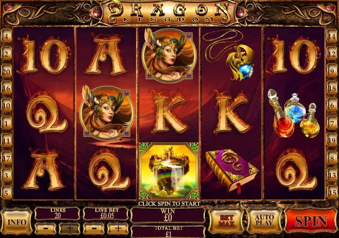 dragon kingdom slot play
