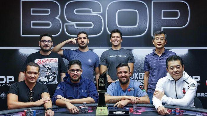Mesa Final do BSOP São Paulo 2019
