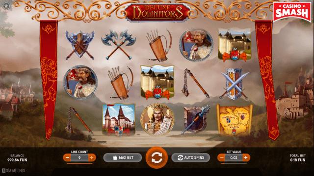 domnitors deluxe bitcoin slot machine