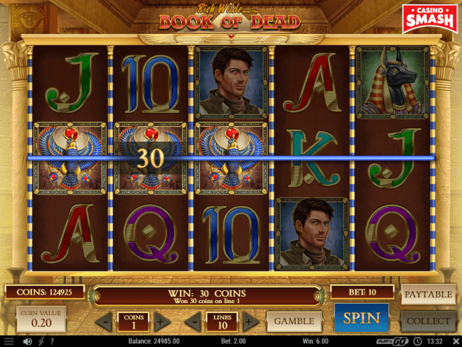Book of Dead Slots Review