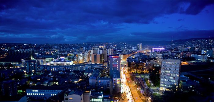 Pristina skyline (source: Wikipedia)
