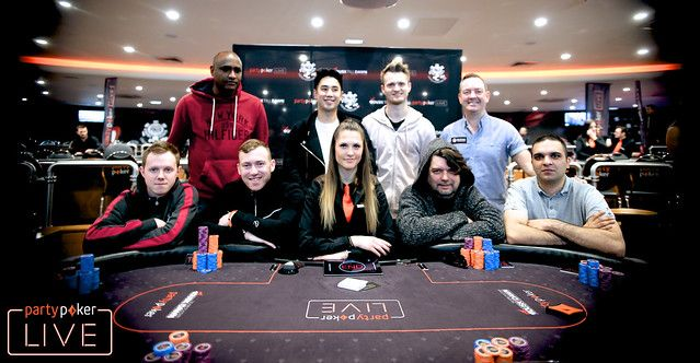 The official WSOP-C UK Main Event final table