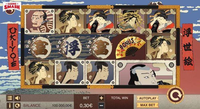 Online-Spielautomaten, die mindestens einmal gespielt werden müssen: Ukiyo-e