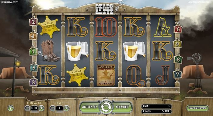 Dead Or Alive 2 Feature Buy Slot Machine