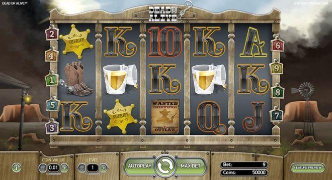 Dead or Alive video Slot Machine