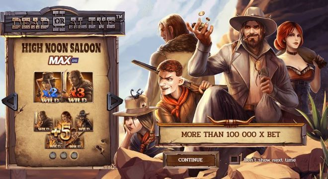 Play dead or alive Slot online