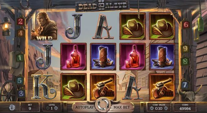 Play Dead or Alive video Slot online