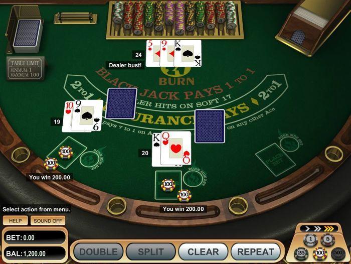 Play Blackjack Online For Fun