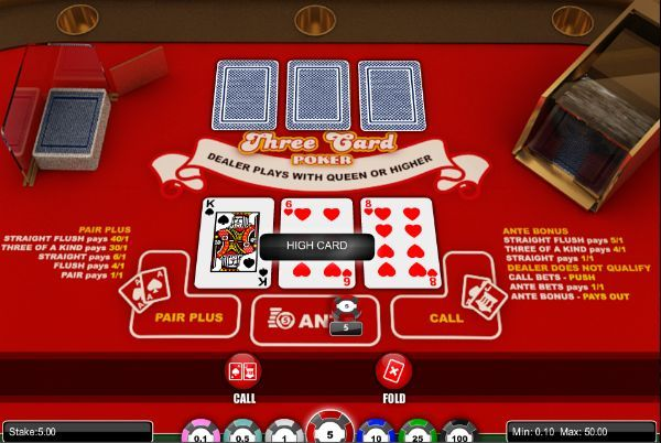 A Guide On How To Play Three Card Poker   PokerNews