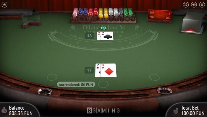 Blackjack Surrender Rule A Beginner S Guide Pokernews