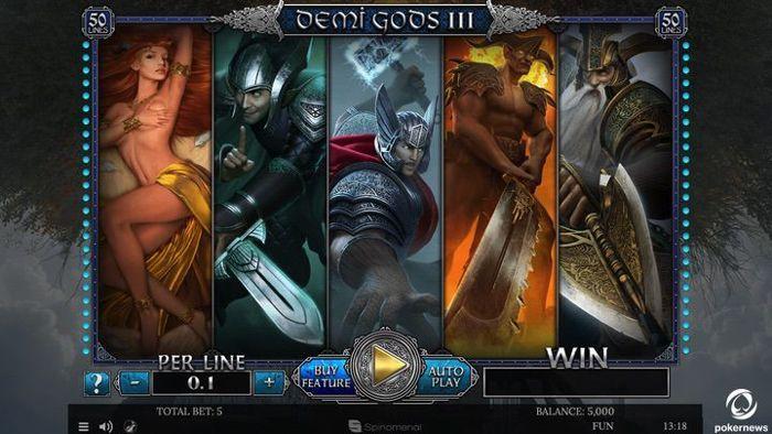 Demi Gods 3 Slot Machine