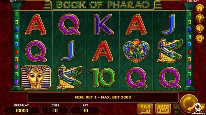 Book of Pharaoh Slot Machine