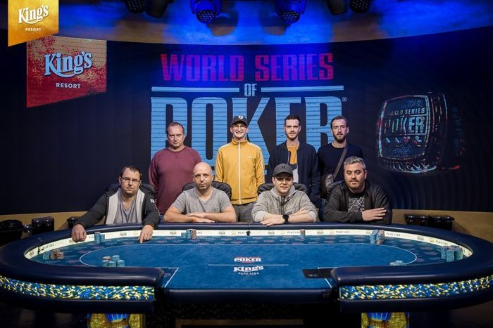 The WSOP Internation Circuit Main Event Final Table