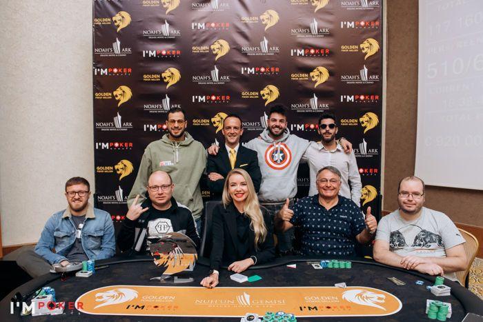 Golden Poker Million Cyprus Final Table