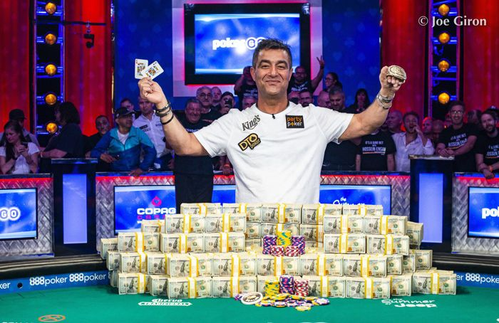 2020 WSOP Main Event Champion Hossein Ensan