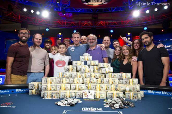Justin Bonomo Wins 2018 WSOP Big One for One Drop