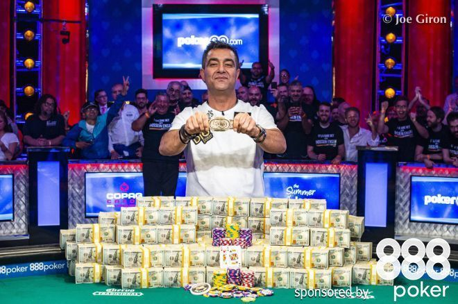 Hossein Ensan Wins 2019 WSOP Main Event
