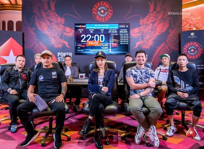 PokerStars Red Dragon Manila ₱500,000 Super High Roller Final Table