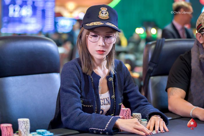 Xiao Ling Li finished in eight place without cashing