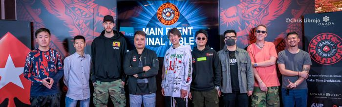 PokerStars Red Dragon Manila Main Event Final Table Players