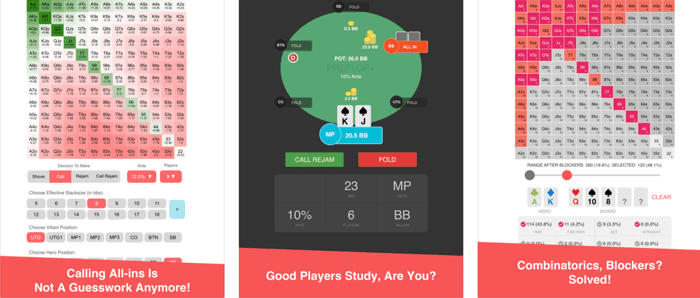 Online poker with video