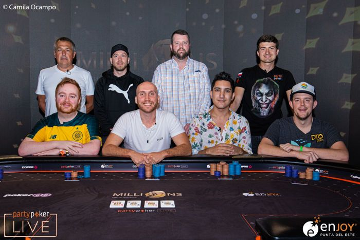 partypoker LIVE MILLIONS South America Super High Roller Final Table