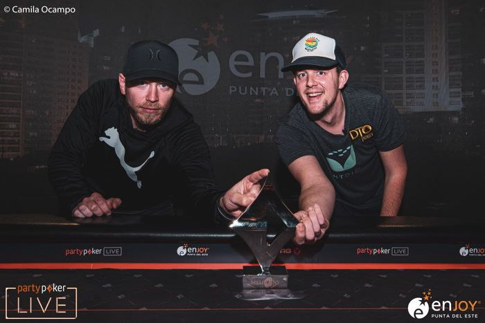 partypoker LIVE MILLIONS South America Super High Roller heads-up James Romero Marty Mathis