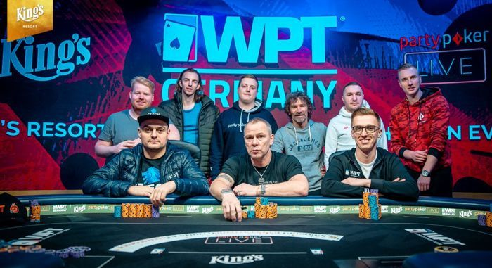 WPT Germany Opener Final Table