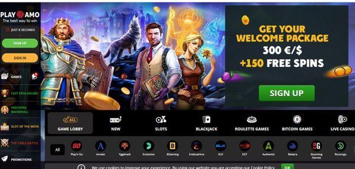 PlayAmo Casino listet einige der besten Casinospiele auf, die Sie im Jahr 2020 auf Android spielen können